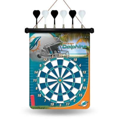 NFL Miami Dolphins Magnetic Dart Board