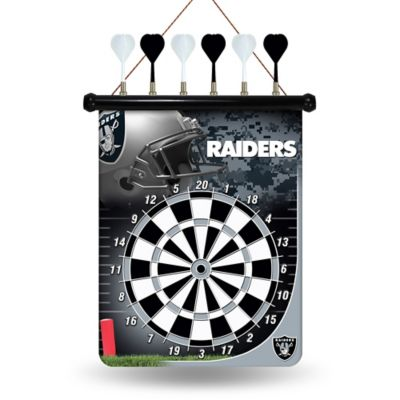 NFL Oakland Raiders Magnetic Dart Board
