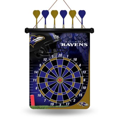 NFL Baltimore Ravens Magnetic Dart Board