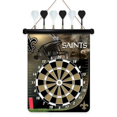 NFL New Orleans Saints Magnetic Dart Board