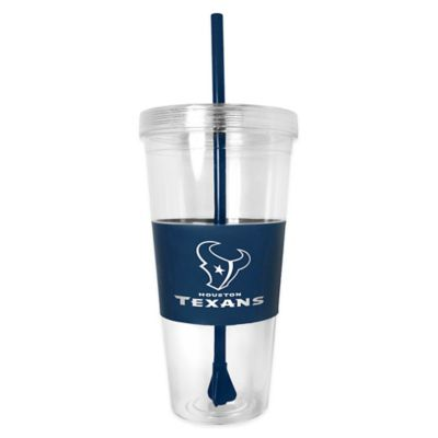 NFL Houston Texans 22 oz. Single Wall Tumbler with Straw