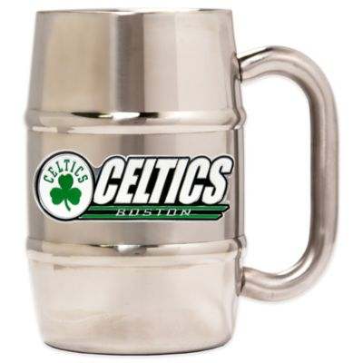 Boston Celtics Barrel Mug