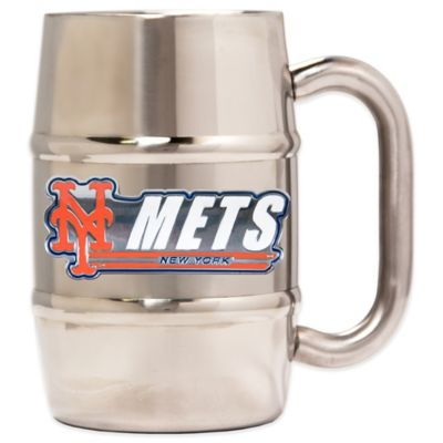 New York Mets Barrel Mug