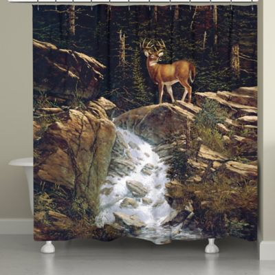 Laural Home® Above the Falls Shower Curtain
