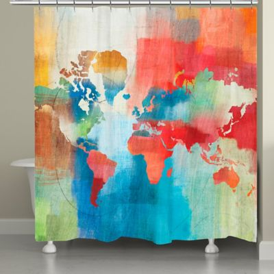 Laural Home® Seasons Change Shower Curtain