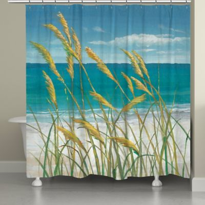 Laural Home® Summer Breeze Shower Curtain