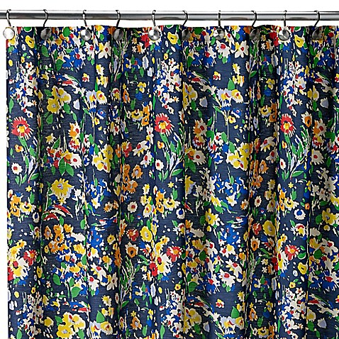 Teen Vogue Folksy Floral Shower Curtain Bed Bath Beyond