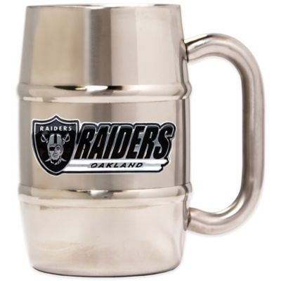 NFL Oakland Raiders Barrel Mug