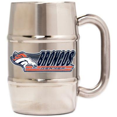 NFL Denver Broncos Barrel Mug