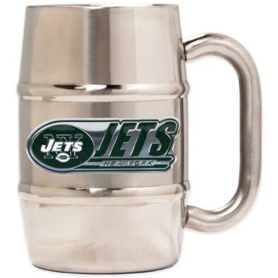 NFL New York Jets Barrel Mug