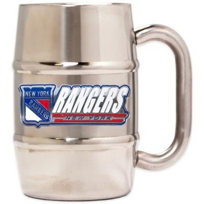 New York Rangers Barrel Mug
