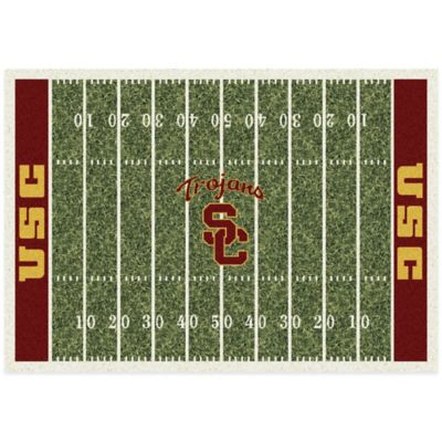 USC 3-Foot 10-Inch x 5-Foot 4-Inch Small Home Field Rug