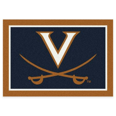 University of Virginia 7-Foot 8-Inch x 10-Foot 9-Inch Large Spirit Rug