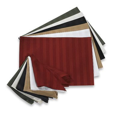 Chateau Stripe Placemat in Red