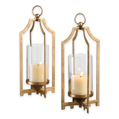 Uttermost Lucy Gold Candleholders (Set of 2)