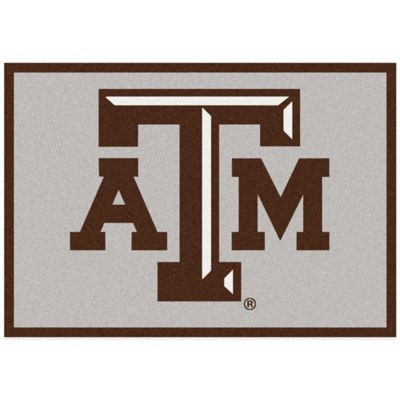 Texas A&M University 7-Foot 8-Inch x 10-Foot 9-Inch Large Spirit Rug