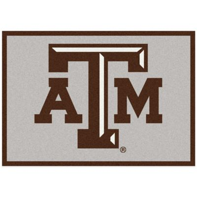 Texas A&M University 3-Foot 10-Inch x 5-Foot 4-Inch Small Spirit Rug