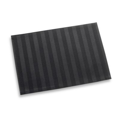 Chateau Stripe Placemat in Black
