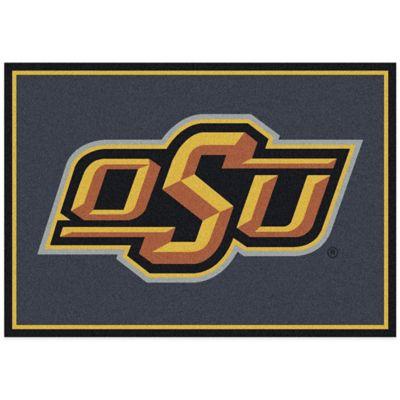 Oklahoma State University 5-Foot 4-Inch x 7-Foot 8-Inch Medium Spirit Rug