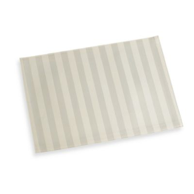 Chateau Stripe Placemat in Ivory