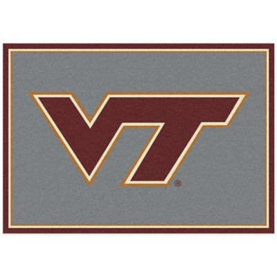 Virginia Tech 7-Foot 8-Inch x 10-Foot 9-Inch Large Spirit Rug