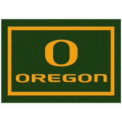 University of Oregon 2-Foot 8-Inch x 3-Foot 10-Inch Extra Small Spirit Rug