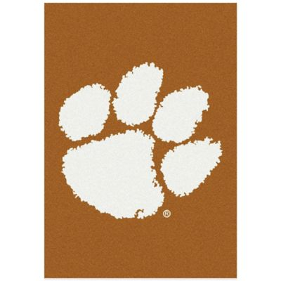 Clemson University 7-Foot 8-Inch x 10-Foot 9-Inch Large Spirit Rug