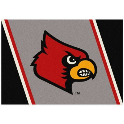 University of Louisville 3-Foot 10-Inch x 5-Foot 4-Inch Small Spirit Rug