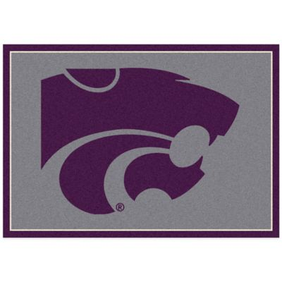 Kansas State University 7-Foot 8-Inch x 10-Foot 9-Inch Large Spirit Rug