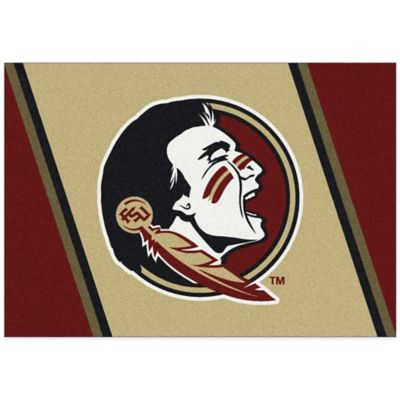 Florida State University 3-Foot 10-Inch x 5-Foot 4-Inch Small Spirit Rug
