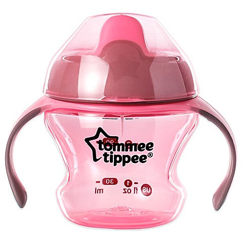 Buy tommee tippee first sips 5 oz trainer cup in pink for Where to buy sips