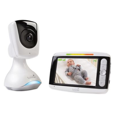 Summer Infant® Sharp Sight HD 4-Inch Color LCD Video Baby Monitor