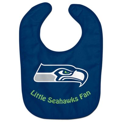 "NFL Seattle Seahawks ""Little Seahawks Fan"" Bib"