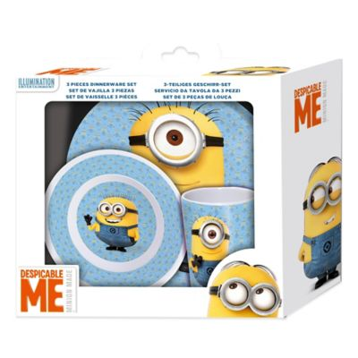 Despicable Me™ Minions 3-Piece Melamine Set in Gift Box