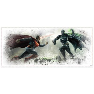 Injustice Wall Graphix Giant Peel and Stick Wall Decals