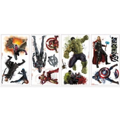 Avengers Age of Ultron Peel and Stick Wall Decals