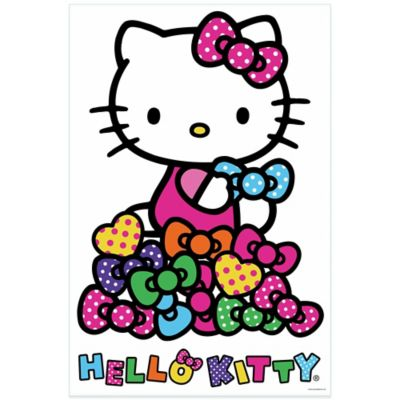 Hello Kitty® Bows Peel and Stick Wall Decals