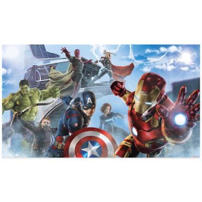 Avengers Age of Ultron Character Prepasted Mural