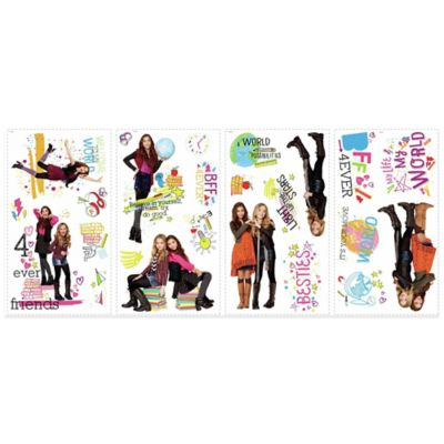 Girl Meets World Peel and Stick Wall Decals