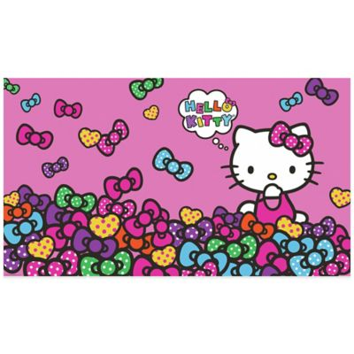 Hello Kitty® Bow-Tastic Prepasted Mural