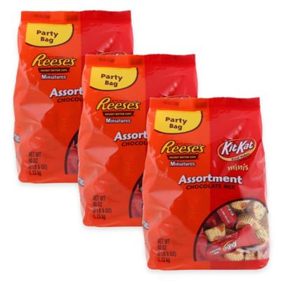 Hershey's Assorted Miniatures 40 oz. Bag (3-Pack)