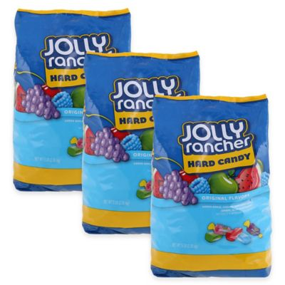 Hershey's Jolly Rancher Hard Candy 5 lb. Bag (3-Pack)