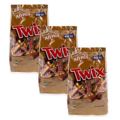 Mars Twix 40 oz. Minis Bag (3-Pack)