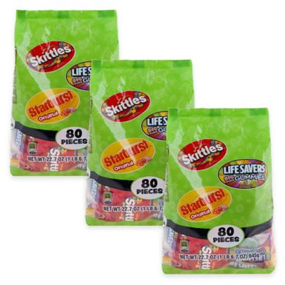 Family Favorites 80-Pack Fun Size Variety Candy Bag