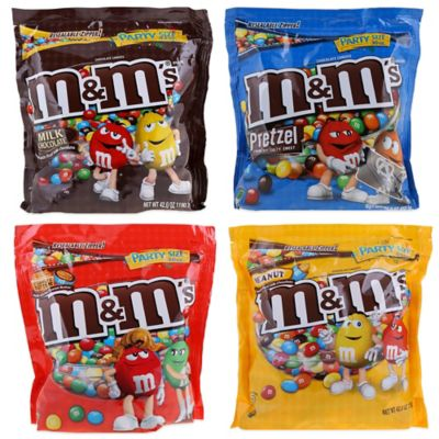 Mars M&M's® Assorted Party Size Bags (4-Pack)