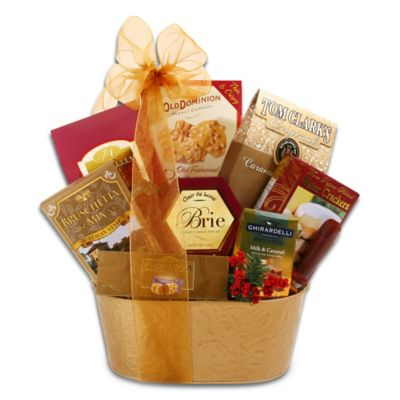 Alder Creek Golden Gourmet Gift Basket