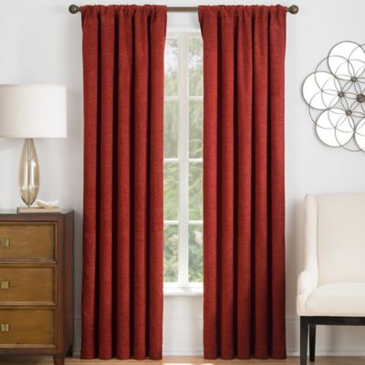 Barrington 63-Inch Window Curtain Panel in Soft Gold