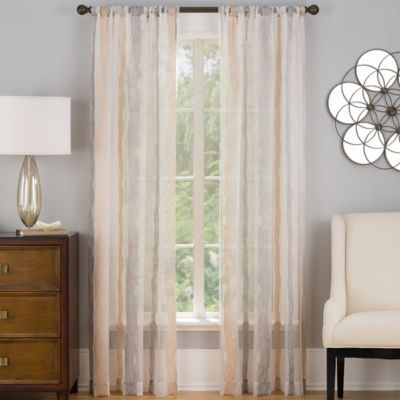 Barrington 84-Inch Window Curtain Panel in Sheer