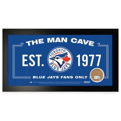 MLB Toronto Blue Jays Large Framed Man Cave Sign