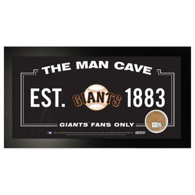 MLB San Francisco Giants Small Framed Man Cave Sign